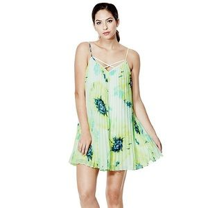 Guess sl temperly pleated dress